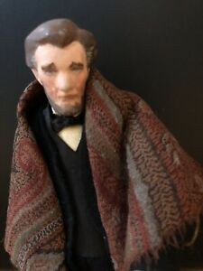 Abe Lincoln Dolls For Democracy By Cecil Weeks RARE $375.00
