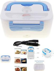 Bento Portable Lunch Box For Heating Meals Microwave Lunchbox 12V Car Truck Plug