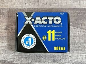 100 Blades #11 Exacto Knife style x Acto Hobby For Multi Tool Crafts Cutting USA $19.99