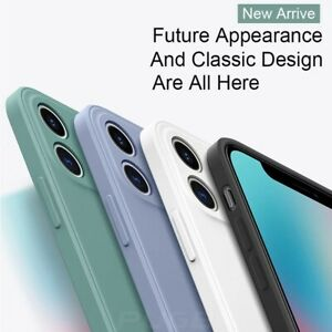 Liquid Silicone Case Camera Lens Cover For iPhone 12 11 Pro XS Max XR X 8 7 Plus $8.99