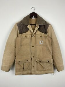 Vintage Union Made In USA Carhartt Hunting Jacket Size Small Fits Medium