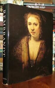 Gerson H. Horst REMBRANDT PAINTINGS 1st Edition 1st Printing $142.83