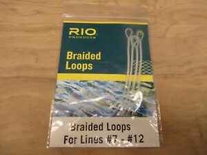 RIO Products Fly Fishing Braided Loops #7 #12