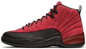 Air Jordan 12 Reverse Flu Game Retro Varsity Red Black CT8013 602 $215.00