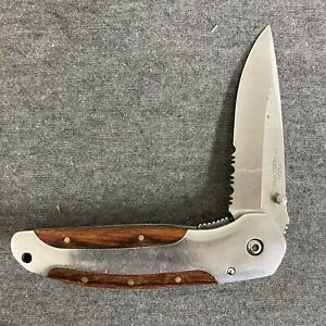 Winchester Knife 3quot; Combination Folding Pocket