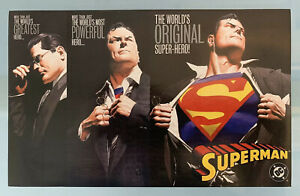 Superman Forever Print Poster Card Alex Ross $14.95