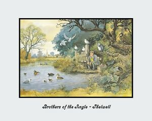 A 10quot; x 8quot; Print Brothers of the Angle Thelwell Fishing GBP 6.69