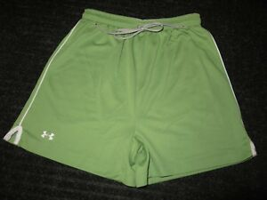Under Armour Shorts Women SM Small Green Athletic Fitness Workout Running Yoga $20.00