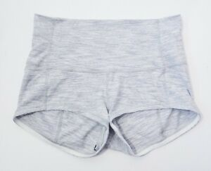 LULULEMON Wunder Under Shorts High Rise Size 10 Heathered Grey Luon $24.99