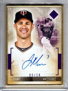 2020 Transcendent Collection Auto JOE MAUER Gold Framed AUTOGRAPH 05 10 Topps $181.99