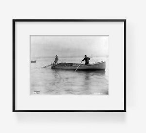 1895 photo Salmon fishing on Columbia River Ore.: quot;fishing with the gillnetquot; 8