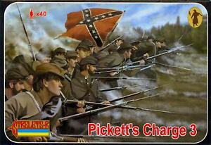 Strelets Models 1 72 PICKETTS CHARGE AT GETTYSBURG Figure Set Part 3 $8.99