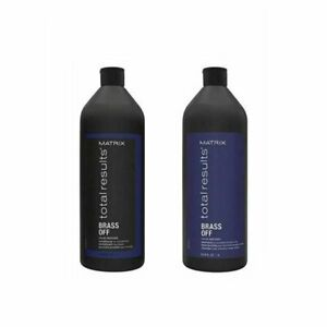 Matrix Total Results Brass Off Color Obsessed Shampoo amp; Conditioner 33.8 oz DUO
