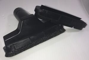 Black Hair Square Dusting Brush Fit Rubber 1.25 Vacuum Cleaner Attachment Tool $12.99
