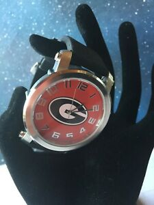 University of Georgia Bulldogs Licensed Mens Metal and Silicone Casual Watch $12.99