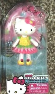 Sanrio Hello Kitty Spring Easter Mini Figure Doll Collectible Limited Edition