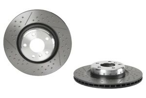 Brembo Rear Left or Right Drill Slotted Brake Disc Rotor For BMW F22 F23 F30 F34 $174.99