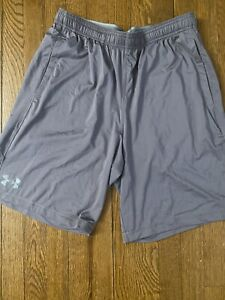 Under Armour Mens Shorts L Gray $18.00