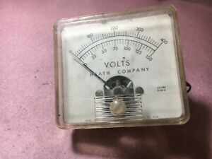 Heath company meter 061162 volts ideal precision meter untested sold as is $9.99