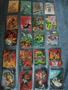 1992 Marvel Masterpieces Series 1 Singles Complete your set. Look Updated $25.00