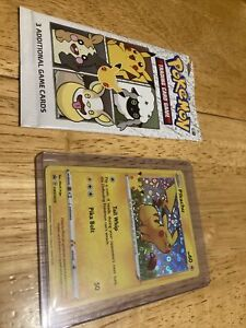 Pokemon Pikachu General Mills 25th Anniversary Stamped Holo Foil Promo Card MINT $9.99