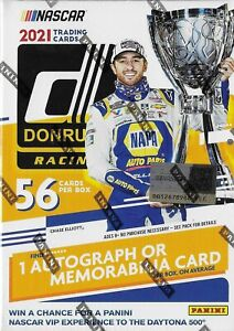 2021 Donruss NASCAR Racing Blaster Box Sealed 1 Auto or Memorabilia CHECKERS $36.99