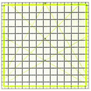 UOOU Quilting Ruler 12.5amp;quotX12.5amp;quot Square Rulers Fabric Cutting Acrylic $23.35
