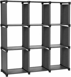 SONGMICS 9 Cube DIY Storage Shelves Open Bookshelf Closet Organizer for Famil $32.92