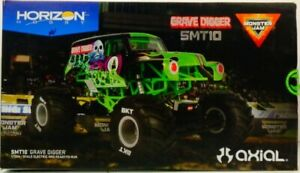 Axial 1 10 SMT10 Grave Digger 4WD Monster Truck Brushed RTR AXI03019