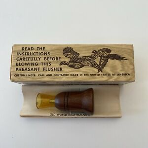 HERTER#x27;S C327 PHEASANT FLUSHER CALL w Box and instruction sheet