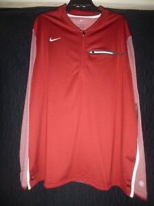 NEW NIKE 1 2 ZIPPER DRY FIT SHIRT 845831 613 SIZE XXL NWT $75.00 $39.99