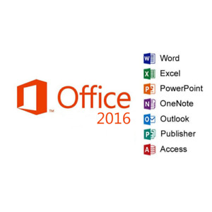Microsoft Office MS Office 2016 Professional Plus 1 PC USB Included $54.94