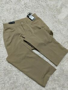 Under Armour golf pants NWT 34 30 Loose Straight Tan $32.00