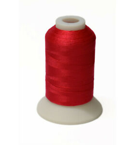 Deep Rose Embroidery Thread For Brother Machine #086 Polyester 550 Yards $1.99