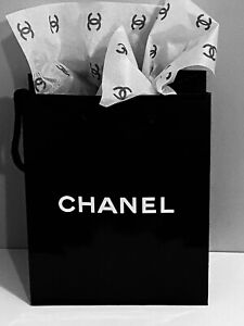 NEW Chanel Shopping Gift Bag 1 pc Tissue Paper AUTHENTIC