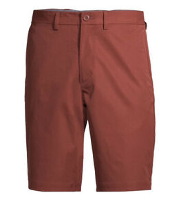 George Shorts Mens Size 46 Copper Flat Front GE Performance $17.99