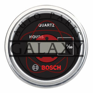 New Bosch Digital Hour Meter 2quot; Opening 12v amp; 24v Systems Use Spade Terminals $79.19