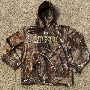 Northern Kentucky NKU Norse REALTREE CAMO Under Armour Hoodie Mens Pullover M $49.99