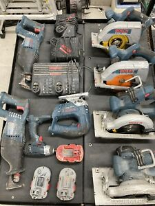 Bosch Tool Lot Saws And More See Images $350.00