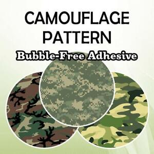 Bubble Free Adhesive Vinyl Camouflage Patterns 12quot; Roll **FREE SHIPPING**