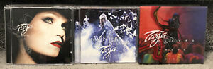 Lot Of 3 TARJA Cds What Lies Beneath Winter Storm Colours In The Dark Slipcover