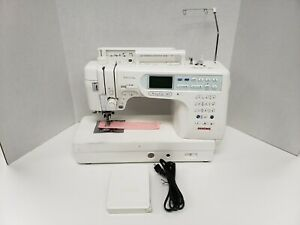 Janome Memory Craft 6600 Professional Sewing Machine With Built in Walking Foot $875.00