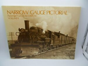 Used Narrow Gauge Pictorial Volume ll Passenger Cars of the Damp;RGW Softcover
