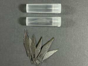 20PCS Exacto Knife Blades #11 Carbon Steel Xacto Case For Hobby Craft Refill Art $7.95