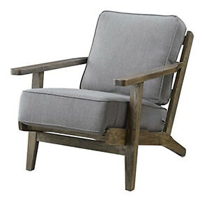 Picket House Mercer Accent Chair Slate Antique Legs $355.87