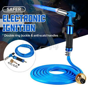 Electronic Ignition Liquefied Gas Welding Torch Kit with 118in Hose for Solder $32.85