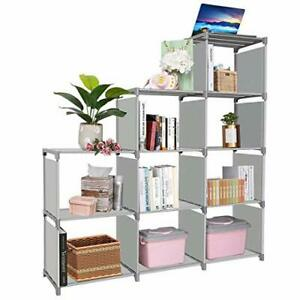 Clewiltess 9 Cube DIY Storage BookcaseBookshelf for KidsHome Furniture Storag... $47.32