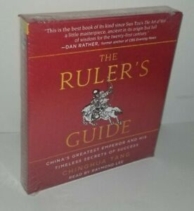 The Ruler#x27;s Guide: China#x27;s Greatest Emperor by Chinghua Tang CD Audiobook $14.95