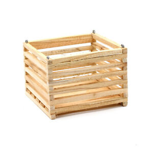 8quot; square wood mount hanging orchid basket $12.00