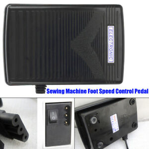 3 Pin Power Cord Foot Pedal Control FOR Brother Sewing Machine Accessories 110V $20.98